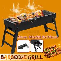 DIY Tragbar Faltbar Feuerstelle BBQ Grill Rck Außen Grden Quadrat Cmping UK