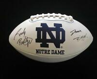 Rudy Ruettiger Signed Autograph Football JSA COA Notre Dame Great