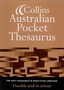 Collins Australian Pocket Thesaurus (Colour, Paperback)