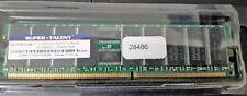 Super Talent 1GB D27RB1GW DDR 333 PC2700 ECC REG 184 PINS for SERVER
