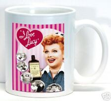 I Love Lucy Coffee Cup Mug Vintage TV Television Funny Custom Gift Home Office