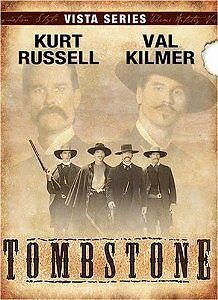 Brand New DVD Tombstone - The Director's Cut Kurt Russell Val Kilmer Sam Elliott