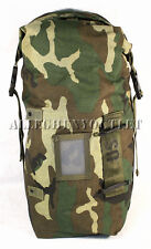 NEW Military SM STUFF COMPRESSION SACK Protective Carrying Utility Bag Woodland
