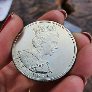 Five Pound Coin 2002 - £5 Queen Elizabeth II Golden Jubilee