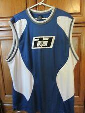 rare jordan sleeveless tank muscle shirt jersey 85 05 20 blue mens xxl