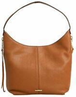 Rebecca Minkoff HU17IMOH41 Med. Bryn Double Zip Almond Hobo Women's Handbag NWT