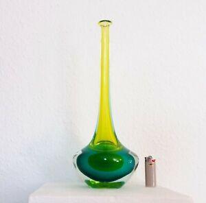 Original Flavio Poli für Seguso ca. 1950/60  Außergewöhnliche XL Sommerso Vase