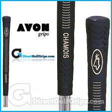Avon Chamois Grips - Black / Gold x 9
