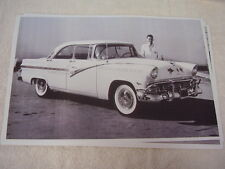 1956 FORD MOBIL GAS RUN FORD DEALERS OF SOUTH CA 11 X 17  PHOTO   PICTURE