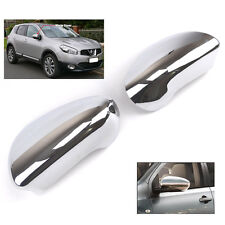Fit for Nissan Qashqai Dualis +2 Chrome côté miroir couverture moulures cap