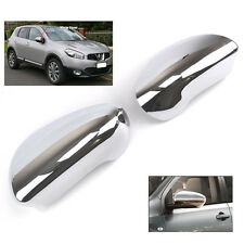 FIT FOR NISSAN QASHQAI DUALIS +2 CHROME SIDE MIRROR COVER TRIM MOLDING CAP