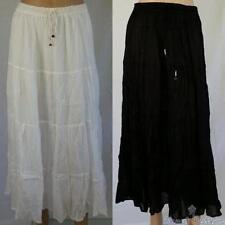 Mid-Calf 100% Cotton Skirts for Women