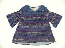 Roxy Girl 10 Sonoma Pesnt Long Sleeve  Blouse