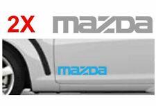 2 x MAZDA  side sill  Sticker   Decal   graphic