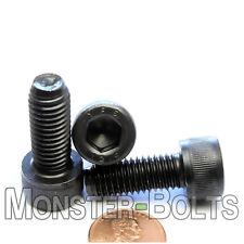 10mm x 1.50 x 25mm - Qty 10 - SOCKET HEAD Cap Screws Black Oxide Class 12.9 M10