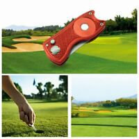 Personalised Golf Divot Tool, Green Repair Fork, Magnetic Ball Marker-Engraved