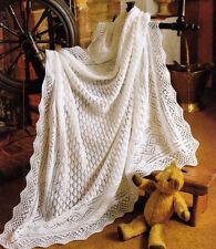 Girls Baby Items 3 Ply Crocheting & Knitting Patterns