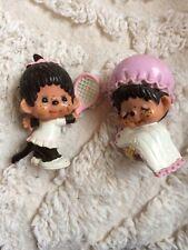 2 Collectable Adorable Plastic Figurine Sekiguchi 1979!