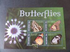 Gambia 2014 Butterflies Butterfly Sheetlet UM MNH  unmounted mint