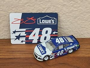 2018 #48 Jimmie Johnson Lowe's Patriotic 1/64 NASCAR Diecast Loose