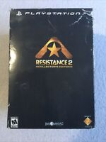 Resistance 2 Collector's Edition (Sony PlayStation 3, 2008) No Game Disc