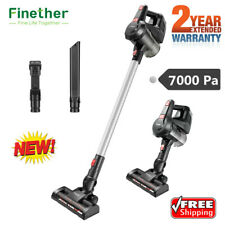 Finether Handheld Cordless Stick Vacuum Cleaner Home Carpet Floor Sweeper 7000Pa