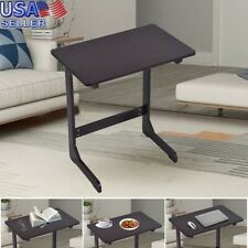 Bamboo Snack Table Sofa Couch Coffee End Table Bed Side Table Laptop Desk