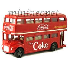 MCC 464001 1960 ROUTEMASTER LONDON DOUBLE DECKER BUS COCA COLA COKE 1/64 RED