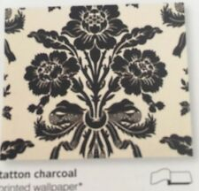Laura Ashley Wallpaper Tatton Charcoal W065943-A/1