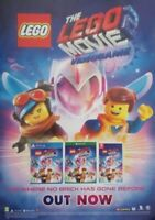LEGO MOVIE 2 THE VIDEO GAME UK PROMO POSTER NEW!