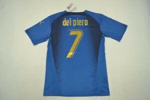 Camiseta Retro Jersey Del Piero Italy 2006 World Cup