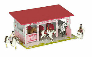 Papo 60105 Trendy horses boxes MDF stable toy horse building barn *no figures