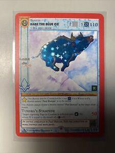 MetaZoo Babe The Blue Ox 1st Edition Kickstarter Gold Rare Reverse Holo (Bleed)