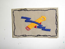 b1793  WW 2 US Army 82nd Airborne Bazooka Team Patch Paratrooper large Tan A2A14