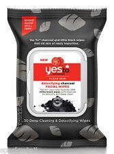Yes to tomatoes Desintoxicante carbón Rostro/Facial Toallitas Toallitas de paños de 30/