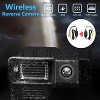 Wireless CCD Car Reversing Reverse Camera For VW Golf Passat CC MK4 MK5 MK6 GTi