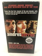 Amores Perros Vhs rare video tape film by Alejandro Gonzalez Inarritu
