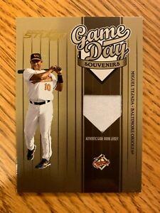 2004 Donruss Studio Miguel Tejada Game Day Souvenirs #GD-11 Baltimore Orioles
