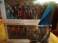 DC COLLECTABLES DC Comics Justice League & THE NEW 52 SUPER HEROES VS VILLAINS