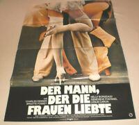 A1 Filmplakat ,DER MANN DER FRAUEN LIEBTE ,CHARLES DENNER,BRIGITTE FORSSEY