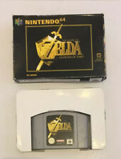Zelda Ocarina Of Time N64 Boxed With Tested PAL Protector Nintendo