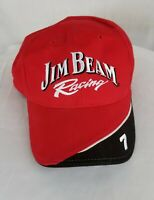 Jim Beam Racing Robby Gordon Motorsports NASCAR Red Black Cap Hat NEW