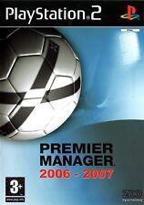 Premier Manager 2006-07 PS2 (Playstation 2) - Free Postage - UK Seller