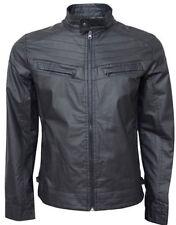 Cappotti e giacche da uomo neri con colletto
