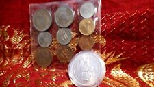 1953 ROYAL MINT QUEEN ELIZABETH II CORONATION 10 COIN UN-CIRCULATED SET