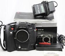 *RARE* Leica Digital Modul R + Leica R9 35mm SLR film Camera + 2 batteries *EXC+