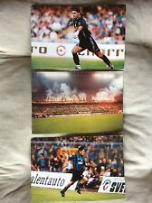 3 FOTO CARTOLINE INTER FC CALCIO ZAMORANO PAGLIUCA BOYS ULTRAS CURVA NORD   F.E.
