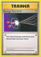 Energy Retrieval Uncommon Pokemon Card XY12 Evolutions 77/108