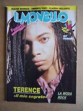 IL MONELLO n°11 1988 con maxi Poster Withney Houston & Eros Ramazzotti [G425]