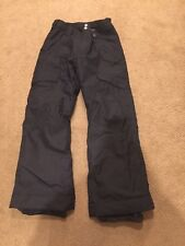Burton Girls The White Collection DryRide  Black Pant Size XL